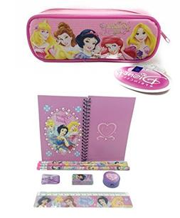 Disney Princesses Combo Stationary Set + Pencil Pouch