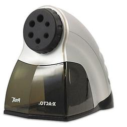Prox Electric Pencil Sharpener, Silver/Black
