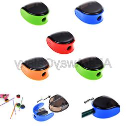 Cosmos 5 PCS Random Color Plastic Manual Pencil Sharpener