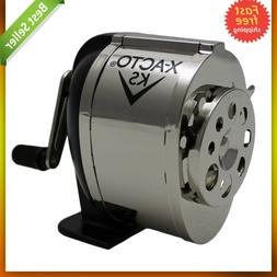 Ranger 1031 Wall Mount Manual Pencil Sharpener Silver/Black