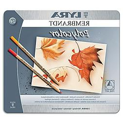 Lyra Rembrandt Polycolor Colored Pencils, Set of 24, Assorte