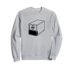 Unisex Retro Electric Pencil Sharpener Print Sweatshirt XL: