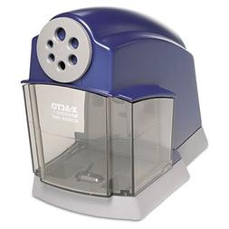 School Electric Pencil Sharpener, Blue/Gray, Sold as 1 Each