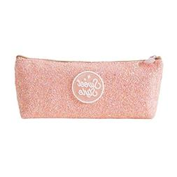 Rumas Fashion Sequin Lightweight Pencil Case Cosmatic Make u