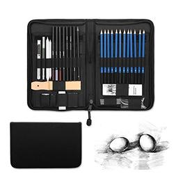48-piece Professional Art Sketch Pencils Drawing Set With wi