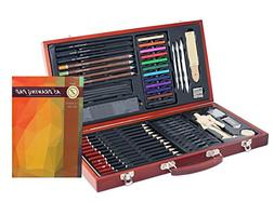 ZagGit Sketching Deluxe Art Box Set - 58 Piece