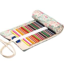 Sketching Pencil Set, 12, 36 & 72 Pcs Holes Roll Up with Flo
