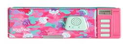 Smiggle Chaos Pop Out Record & Light Up Pencil Case from Max