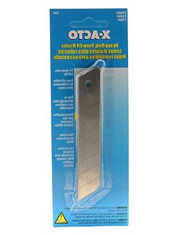 X-Acto Snap-Off Blade Knife refill blades pack of 5