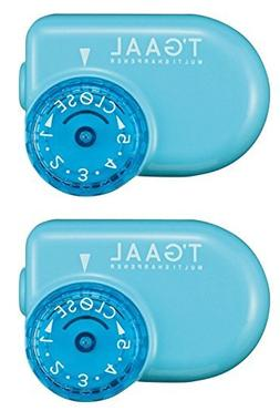 2 X Stad T'Gaal Pencil Sharpener - Light Blue