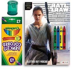 Star Wars The Force Awakens Coloring and Activity Book with