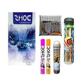 Doms Stationery Kit Set Caryons Glue Color Pens Notebook Chi