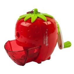 Strawberry Manual Pencil Sharpener for Office and Home Desks