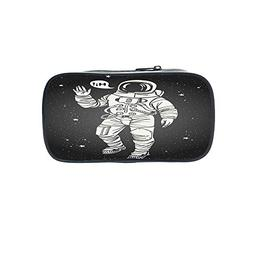Strong Durability Pen Bag,Outer Space Decor,Minimalist Space
