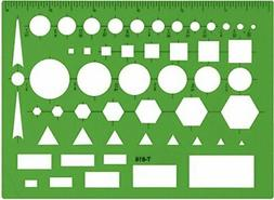 Westcott Technical Drawing Template , Green Green