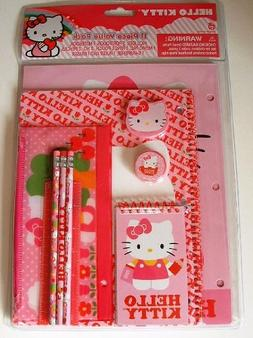 Hello Kitty Think Pink 11 piece Stationary Pack