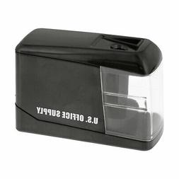 U.S. Office Supply Electric Pencil Sharpener - Battery or US