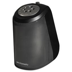 Universal One Pencil Sharpener, Electric, Heavy Duty, Black/