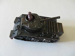 Vintage 1960's Army Tank Diecast Pencil Sharpener Collectibl