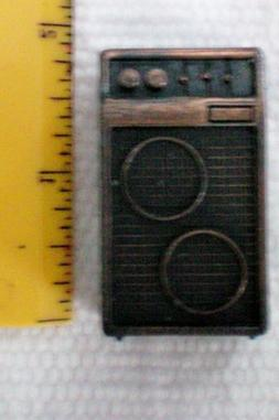 Vintage Floor Model Radio Pencil Sharpener -- Great for Doll