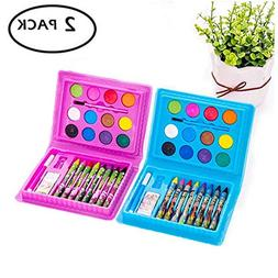 JSDOIN Watercolor Paint Children's Drawing Stationery Set 24