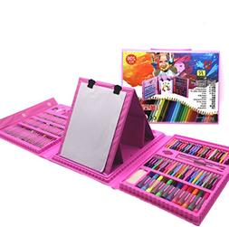 7TECH - 208 Piece Children Watercolor Pen Set in Pink Packag