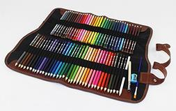 Alinshi 72Pcs Watercolor Pencils - Water Soluble Colored Pen