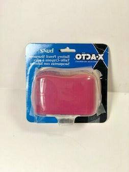 X Acto Buzz Battery Pencil Sharpener Pink NEW *Damaged Packa
