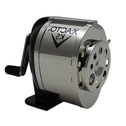 X-ACTO KS Manual Pencil Sharpener Metal Finish Mountable Des