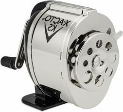 X-ACTO - Manual Pencil Sharpener, Table- or Wall-Mount - Bla