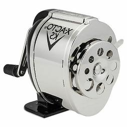 X-ACTO - Manual Pencil Sharpener Table- or Wall-Mount - Blac