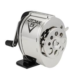 X-ACTO Manual Pencil Sharpener Table or Wall Mount Black & C