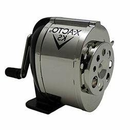 Ranger 1031 Wall Mount Manual Pencil Sharpener,Silver/Black