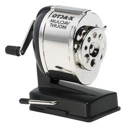 X-ACTO 1072 KS Manual Vacuum Mount Classroom Pencil Sharpene